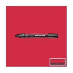 BRUSHMARKER R665 BERRY RED
